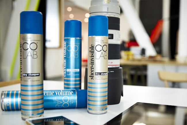colab dry shampoo giveaway