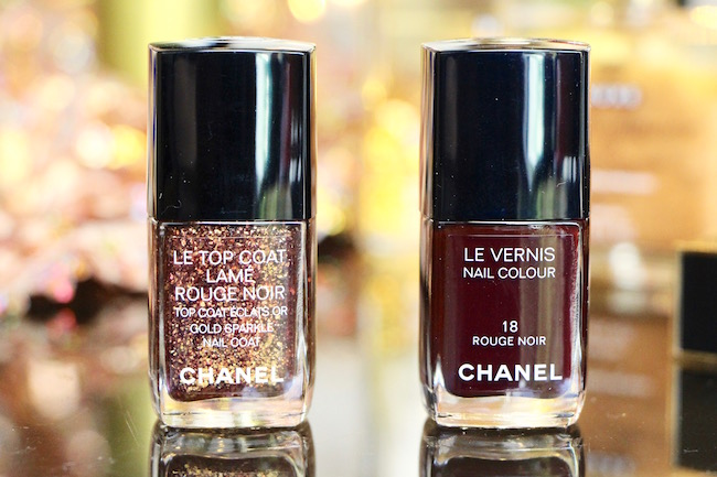 chanel rouge noir nail polishes 2015