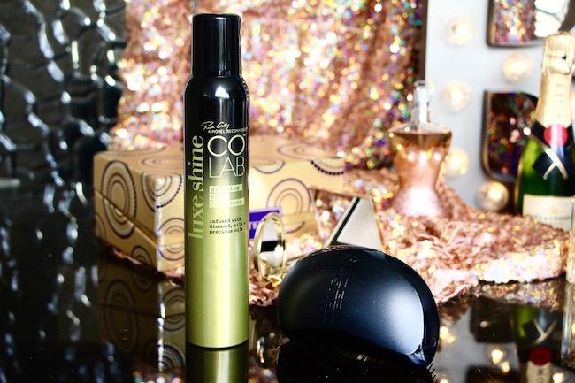 colab luxe shine hair fragrance spray
