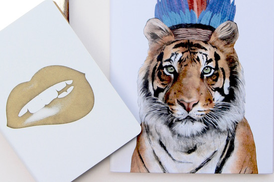 nuuna and ohh deer stationery