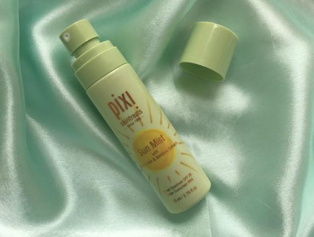 Pixi Sun Mist SPF30 Review