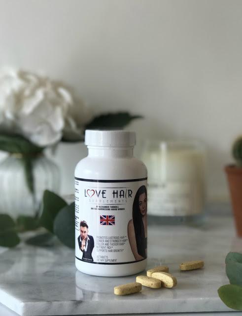 Alex Turnbull Love Hair Supplements