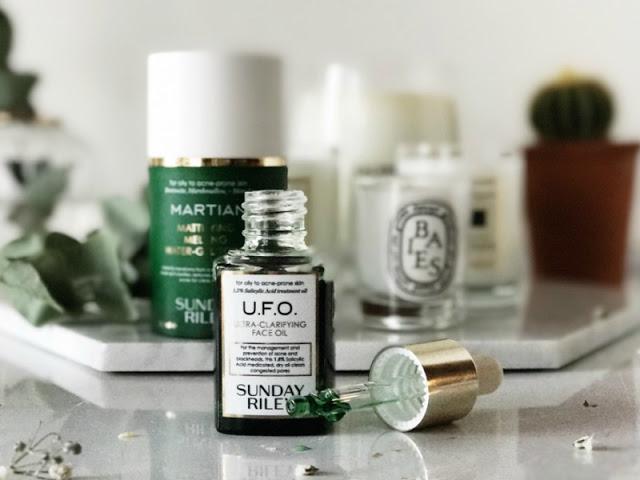 Sunday Riley U.F.O Ultra-Clarifying Face Oil Review